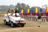 Governor Ramesh Bais receives Guard of Honour at Assam Rifles Ground in 71st R-Day